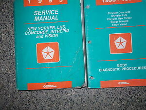 1995 chrysler concorde owners manual