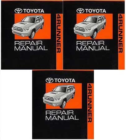 2005 toyota 4runner owners manual