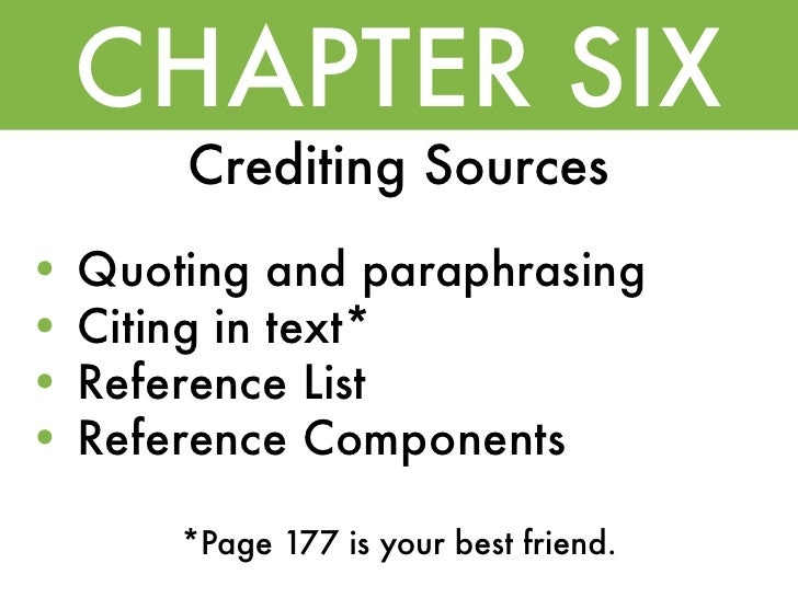 chapter 2 manuscript structure and content apa manual