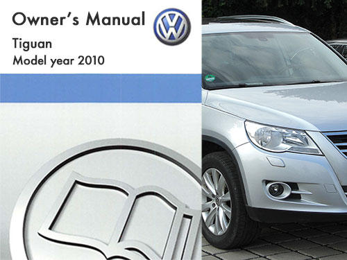 2010 volkswagen tiguan owners manual
