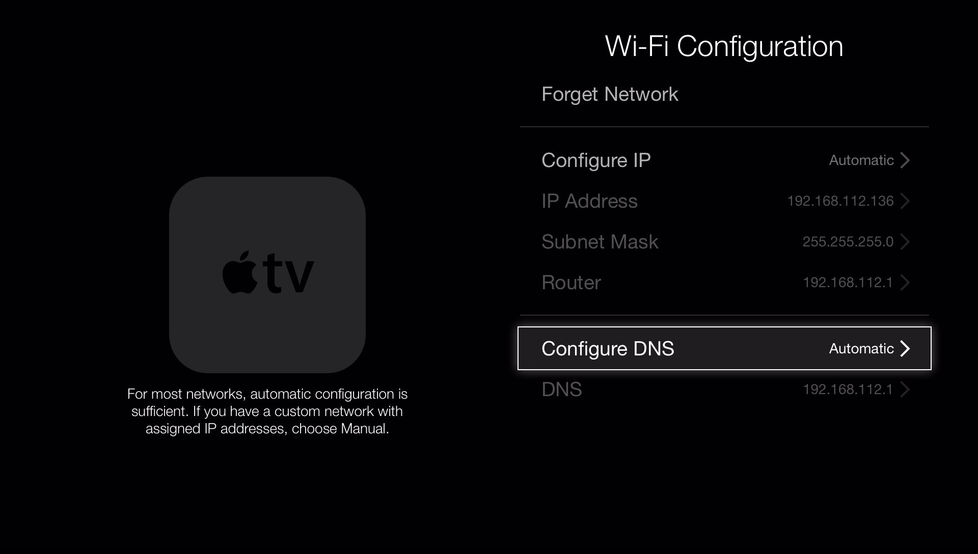 manual for apple tv 2