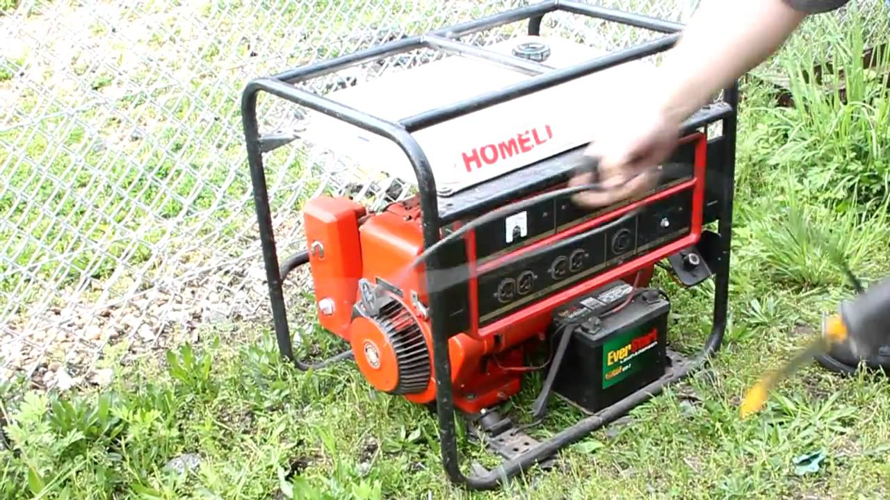 homelite generator lr4400 owners manual
